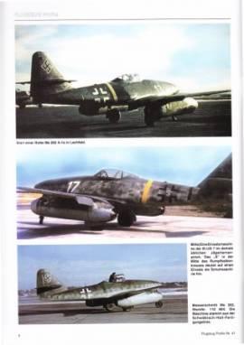 Flugzeug-Profile 47: Messerschmitt Me 262 und Varianten - Bild vergrößern
