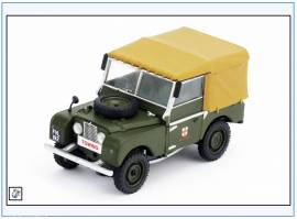 VA11105 Land Rover Series I SWB Canvas lincoln Corporation, Corgi 1:43, NEU