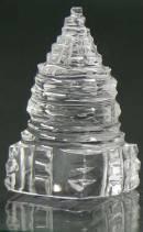 SRI YANTRA aus HIMALAYA BERGKRISTALL - PYRAMIDE - NEPAL - 48 Gramm