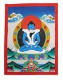 Thangka Adi-Buddha - Samantabhadra  Yab-Yum - Nepal