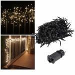 LED Cluster-/Büschel-Lichterkette CT-BLK 400-1000 Leds WARMWEIß Außen & Innen