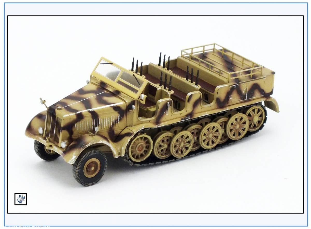 PMA0317 Sd.Kfz.8 DB10 12-to Halbkette Zugmaschine,sand,PMA 1:72,NEU/&