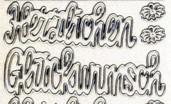 Glitter-Sticker-Bogen-Herzlichen Gl�ckwunsch/gro�-transparent/silber-481Gtrs