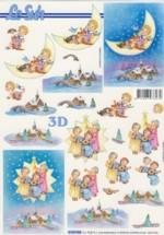 3D-Etappen-Bogen-Engel Chor-4169955