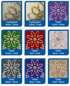 Micro-Glittersticker-Sterne-gr�n-gold-7078ggrg