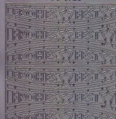 Zier-Sticker-Bogen-Frohes Fest-silber-W 3728s