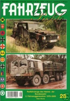 Fahrzeug-Profile 28: Die zweite Fahrzeuggeneration der Bundeswehr - Bild vergrößern