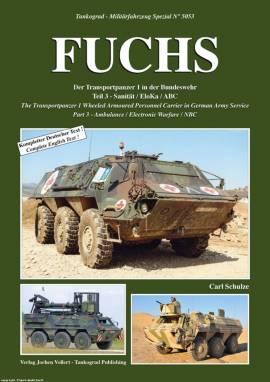 5053 Transportpanzer Fuchs, Teil 3, Tankograd, NEU  - Bild vergrößern