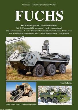 5054 Transportpanzer Fuchs, Teil 4, Tankograd, NEU - Bild vergrößern