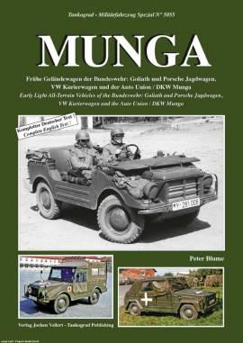 5055 MUNGA, fühe Geländewagen der Bundeswehr, Tankograd NEU - Bild vergrößern