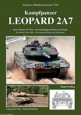 5058 Kampfpanzer Leopard 2A7, Tankograd NEU - Bild vergrößern