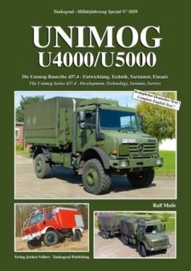 5059 Unimog U4000/U5000 - der neue Unimog in der Bundeswehr, Tankograd NEU - Bild vergrößern