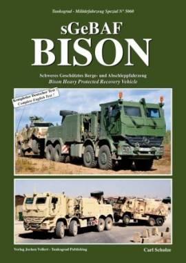 5060 BISON, geschütztes Bergefahrzeug der Bundeswehr, Tankograd, NEU - Bild vergrößern