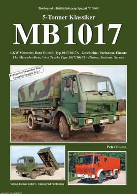 5063 MB1017 5-to Lkw der Bundeswehr,Tankograd NEUHEIT 11/2016 - Bild vergrößern