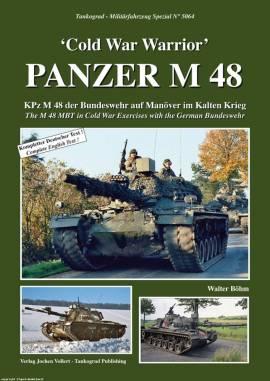 5064 Panzer M48 -Cold War Warrior-, Tankograd NEU 3/2017 Auf Lager! & - Bild vergrößern