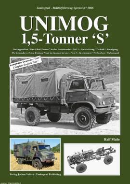 5066 Unimog 1,5-Tonner, Teil 1, Tankograd, NEU Juni 2017, AUF LAGER! - Bild vergrößern