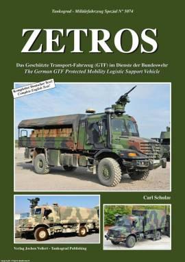 5074 ZETROS, das GTF in der Bundeswehr, Tankograd, NEU  - Bild vergrößern