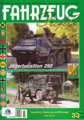 Fahrzeug-Profile 33: Jägerbataillon 292 der Deutsch-Französischen Brigade - Bild vergrößern