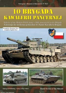 7025 Moderne polnische 10. Panzer-Kavallerie-Brigade, Tankograd, NEU - Bild vergrößern