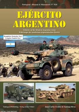 7026 Ejercito Argentino - Fhz. der argentinischen Armee, Tankograd, NEU - Bild vergrößern