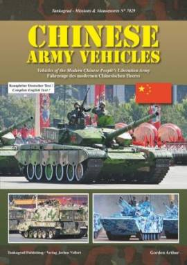 7029 Fahrzeuge der modernen chinesischen Armee, Tankograd, NEU - Bild vergrößern