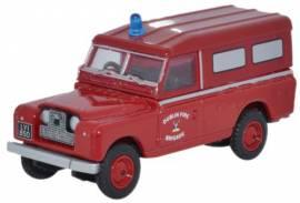 LAN2008 Land Rover Series II LWB Dublin Fire Brigade ,Oxford 1:76, NEU 2/2015 - Bild vergrößern