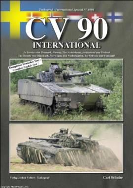 8004 CV90 International - Im Dienste von Dänemark, Norwegen, den Niederlanden, Tankograd NEU 11/2010 - Bild vergrößern