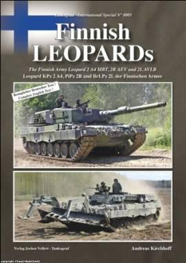 8005 Finnish Leopards, Tankograd NEU 6/2011 - Bild vergrößern