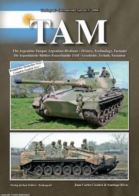 8006 TAM - Tanque Argentino Mediano - mittlere argentinische Pzfamilie - Tankograd, NEUHEIT 3/2012 - Bild vergrößern