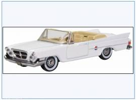 CC61003 Chrysler 300 Convertible, weiß, 1961, Oxford 1:87, NEU 2/20 - Bild vergrößern