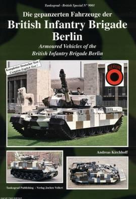 9001 British Army Berlin Brigade, WIEDERAUFLAGE, Tankograd, NEU - Bild vergrößern