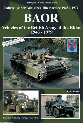 9003 British Army of the Rhine 1945-79, WIEDERAUFLAGE, Tankograd, NEU - Bild vergrößern
