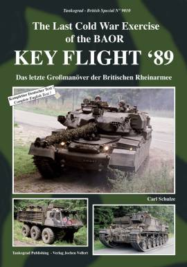 9010 Key Flight `89 Das letzte Großmanöver der Britischen Rheinarmee - Bild vergrößern