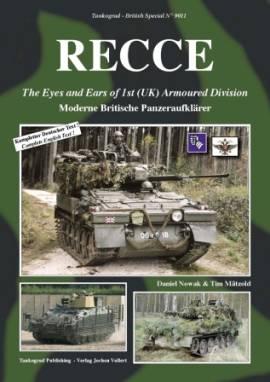 9011 RECCE - Moderne Britische Panzeraufklärer, Tankograd - Bild vergrößern