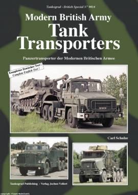 9016 Modern British Army Tank Transporters Panzertransporter der Modernen Brit. Armee, NEU - Bild vergrößern