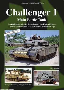 9020 Challenger - Britischer Kampfpanzer des kalten Krieges, Tankograd, NEU - Bild vergrößern
