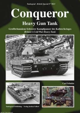 9023 Conqueror - Heavy Gun Tank, Tankograd,  NEU 9/2015  - Bild vergrößern