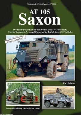 9024 AT 105 SAXON brit. Radtransportpanzer, Tankograd NEU 11/2015; - Bild vergrößern