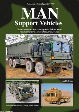 9025 MAN Support Vehicles of the British Army, Tankograd, NEU 9/2016 - Bild vergrößern