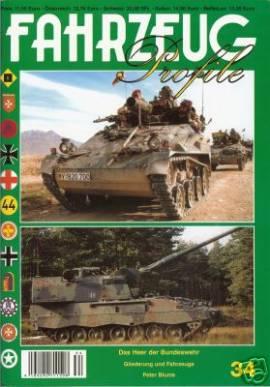 Fahrzeug-Profile 34: Das Heer der Bundeswehr 2005 - 2010 - Bild vergrößern