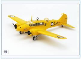 ! AA006 Avro Anson Mk.1 RCAF, Flying School, Ontario 1950er,Oxford 1:72, NEU 11/17 - Bild vergrößern