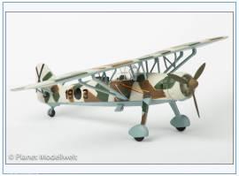 ! AC044 Henschel Hs-126A-1 Legion Condor, Spanien 1938,  Oxford 1:72 - Bild vergrößern