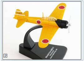 ! AC092 Mitsubishi A6M2 Zero Trainingsflugzeug Jap. Marine, Oxford 1:72,NEU - Bild vergrößern