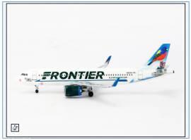 AC19294 Airbus A320neo FRONTIER -Bunting-,N317FR, Aeroclassic 1:400,NEU 8/18 - Bild vergrößern