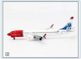 AC19352 Boeing 737-Max-8 NORWEGIAN -Tom Crean-, Aeroclassic 1:400,NEU  - Bild vergrößern