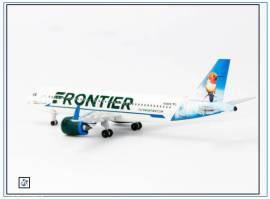 AC19295 Airbus A320neo FRONTIER -Hummingbird-,N318FR, Aeroclassic 1:400,NEU 8/18 - Bild vergrößern