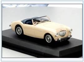 AH1002 Austin-Healey 100BN1 Cabrio, Coronet creme, Oxford 1:43, NEU  - Bild vergrößern