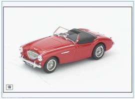 AH1005 Austin-Healey 100BN1 Cabrio, rot,Verdeck geschlossen, Oxford 1:43, NEU  - Bild vergrößern