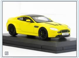 AMVT003 Aston Martin V12 Vantage S, sun-yellow, 2013, Oxford 1:43, NEU - Bild vergrößern
