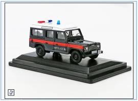 !DEF016 Land Rover Defender 110 HONG KONG Police, Oxford 1:76, NEU - Bild vergrößern